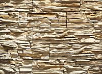 Декоративный камень РокСтоун Слоистый кварц 101П (светло-бежевый) -