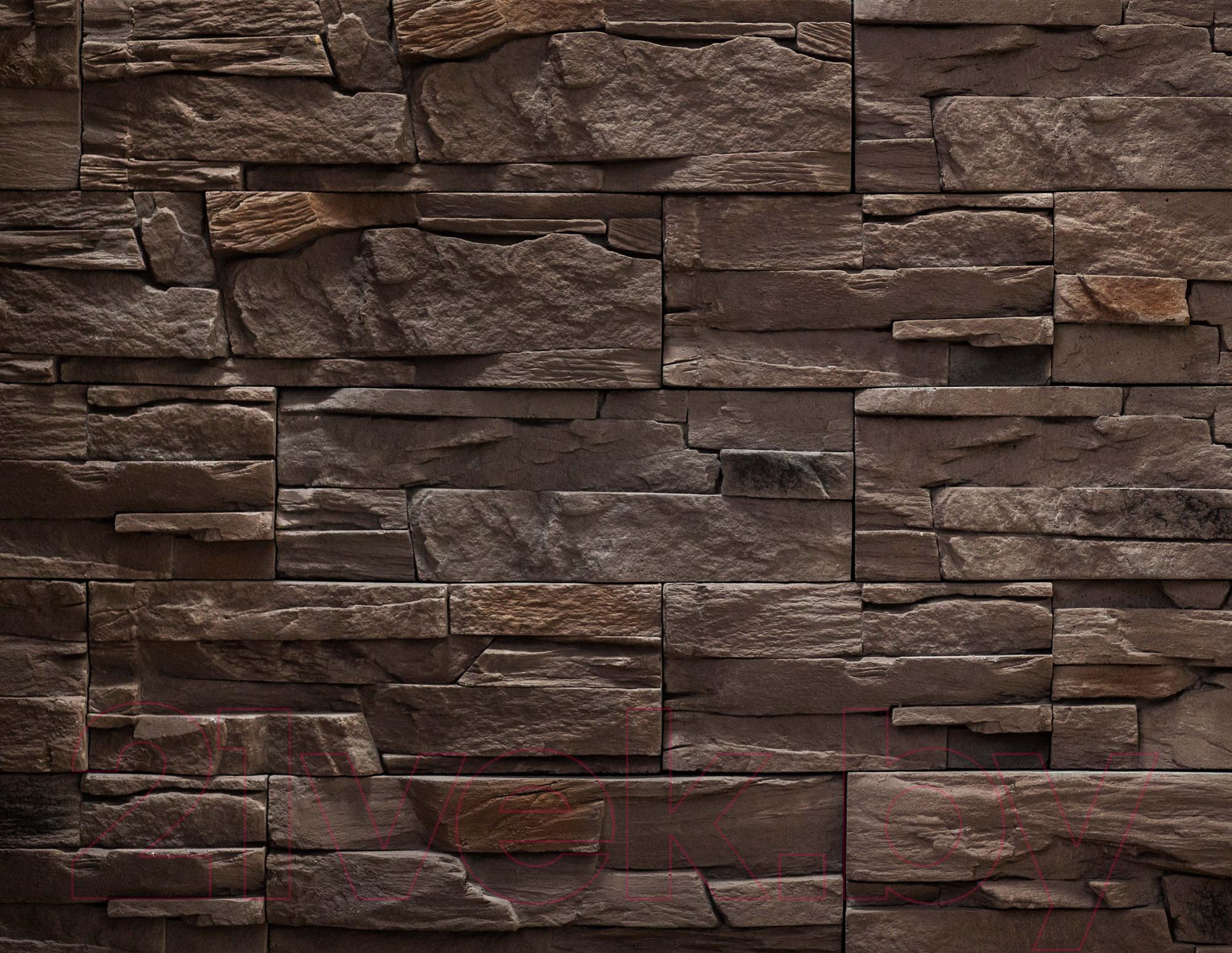 Купить Декоративный камень РокСтоун, Каменное плато 209П (шоколадный), Беларусь, бетон