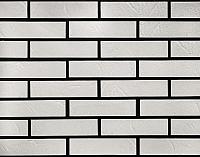 Декоративный камень РокСтоун Кирпич тонкий 800П (белый) -
