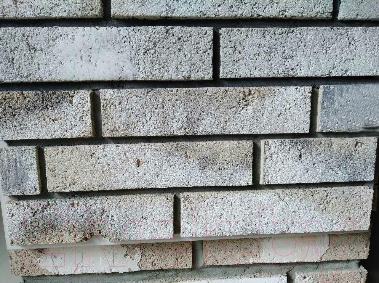 Купить Декоративный камень РокСтоун, Tsegla Рузенбергский кирпич 900П (белый), Беларусь, бетон