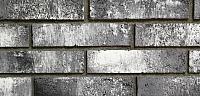 Декоративный камень РокСтоун Tsegla Рузенбергский кирпич 919П (черный пепел) -