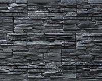 Декоративный камень РокСтоун Медвежья кожа 1419П (черный пепел) -