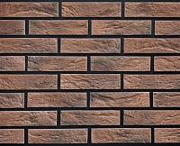Декоративный камень РокСтоун Кирпич декоративный 1613П (бордовый) -
