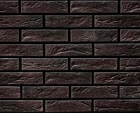 Декоративный камень РокСтоун Кирпич декоративный 1617П (черный магнезит) -