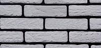 Декоративный камень РокСтоун Кирпич тульский 1800П (белый) -