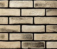Декоративный камень РокСтоун Кирпич флорентийский 2401П (светло-бежевый) -