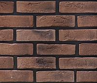 Декоративный камень РокСтоун Кирпич флорентийский 2413П (бордовый) -