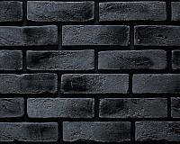 Декоративный камень РокСтоун Кирпич флорентийский 2417П (черный магнезит) -