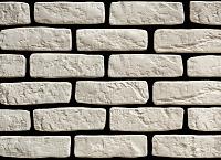Декоративный камень РокСтоун Кирпич Венеция 2600П (белый) -