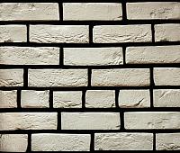 Декоративный камень РокСтоун Кирпич античный 3000П (белый) -
