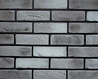 Декоративный камень РокСтоун Кирпич античный 3026П (серый мрамор) -