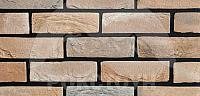 Декоративный камень РокСтоун Кирпич античный 3030П (трюфель) -