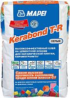 Клей для плитки Mapei Kerabond T-R (25кг, серый) -