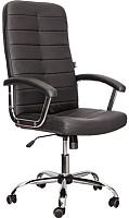 Кресло офисное Седия Olympia Chrome Eco (черный) -