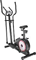 Эллипсоид-велотренажер Sundays Fitness K8508HA (черный/красный) -