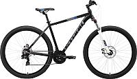 Велосипед STARK Hunter 29.2 D 2019 (18, черный/серый/синий) -