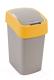 Мусорное ведро Curver Flip Bin 02171-535-00 / 190169 (25л, серый/оранжевый) -