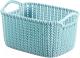 Корзина Curver Knit Rect XS 03675-X65-00 / 230778 (голубой) -
