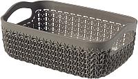 Корзина Curver Knit Basket A6 00772-X59-00 / 234672 (коричневый) -