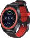 Умные часы D&A F010 (черный/красный) -