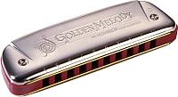 Губная гармошка Hohner Golden Melody 542/20 Db / M542026 -