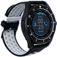 Умные часы D&A F010 (черный/серый) -