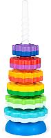 Развивающая игрушка Fancy Пирамидка. Веселые шестеренки / SPIN01 -