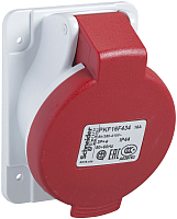 Розетка Schneider Electric PratiKa PKF16F435 -