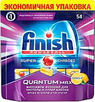 Таблетки для посудомоечных машин Finish Quantum Max Лимон (54шт) -