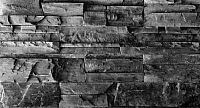 Декоративный камень Baastone Вайсхорн серый/черный 105 (490x95х10-25) -