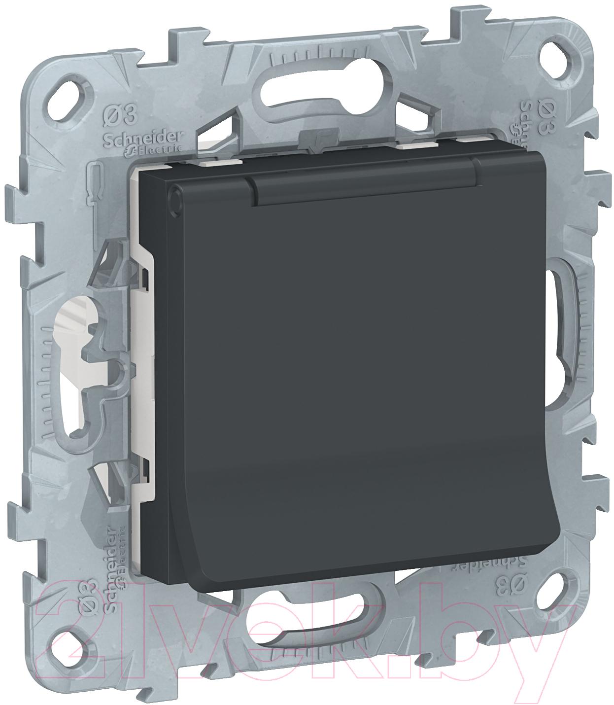 Купить Розетка Schneider Electric, Unica NU503754TA, Россия, поликарбонат, New Unica (Schneider Electric)