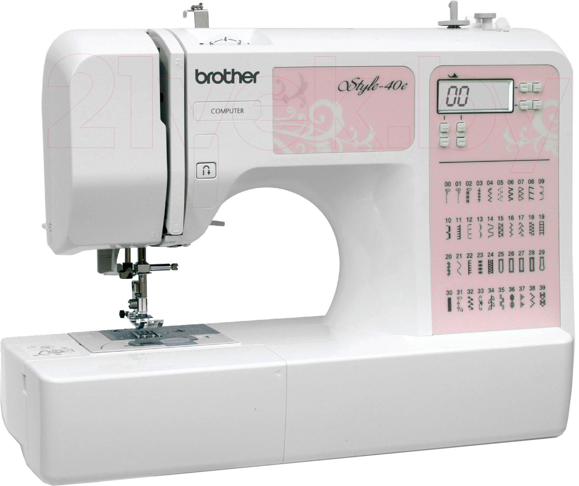 Купить Швейная машина Brother, Style-40e, Китай
