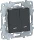 Выключатель Schneider Electric Unica NU521154N -