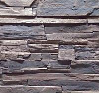 Декоративный камень Baastone Сланец Московский угловой элемент 105 (238/126x8-14) -