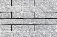Декоративный камень Baastone Кирпич Варшавский угловой элемент 101 (235x60x7-9) -