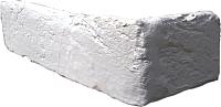 Декоративный камень Baastone Кирпич Шамотный угловой элемент 101 (210x70x7-9) -