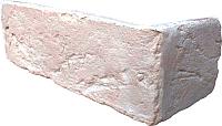 Декоративный камень Baastone Кирпич Шамотный угловой элемент 102 (210x70x7-9) -