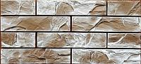 Декоративный камень Baastone Кирпич Ането угловой элемент 102 (210x60х8-12) -