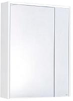 Шкаф с зеркалом для ванной Roca Ronda ZRU9303007 (бетон/белый глянец) -