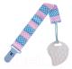 Прорезыватель для зубов Roxy-Kids RSC-001-S (голубой/розовый полоска) -