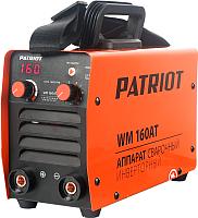 Инвертор сварочный PATRIOT WM 160AT MMA -