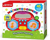 Музыкальная игрушка Азбукварик Мульти-Пульти Магнитофончик / AZ-2004 -