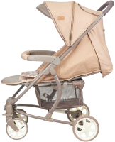 Детская прогулочная коляска Lorelli S300 Beige Brown Lines (10020841940) -