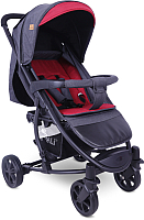 Детская прогулочная коляска Lorelli S300 Black Red (10020841958) -