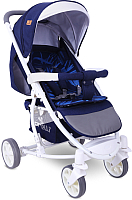 Детская прогулочная коляска Lorelli S300 Dark Blue Flowers (10020841959) -