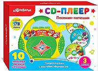 Музыкальная игрушка Азбукварик CD-Плеер. Песенки-Потешки / AZ-2020 -