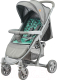 Детская прогулочная коляска Lorelli S300 Grey Green Triangles (10020841961) -
