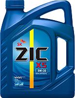 Моторное масло ZIC X5 5W30 / 172621 (6л) -