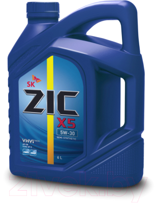 Моторное масло ZIC X5 5W30 / 172621 (6л)
