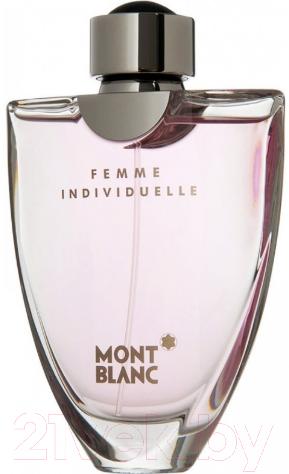 Купить Туалетная вода Montblanc, Femme Individuelle (75мл), Франция